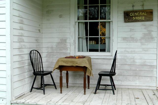 houten terras